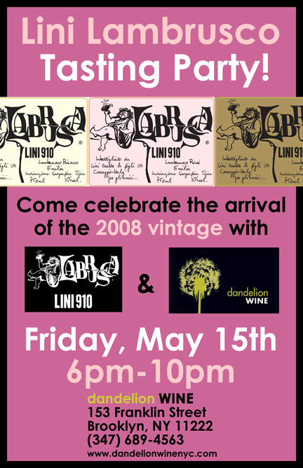lini dandelion poster blog